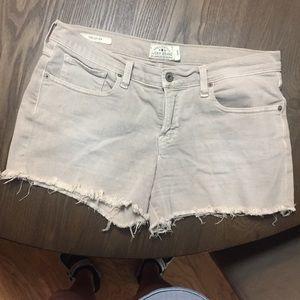 Lucky Tan Jean shorts